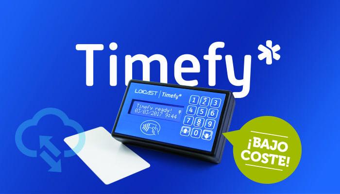 TIMEFY - Sistema para el control presencial y de horario laboral